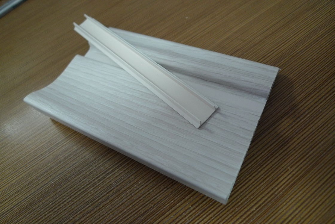 Prefab Houses Kitchen PVC Skirting Board For Walls Maintenance Free